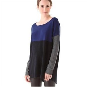 Vince | Wool Cashmere Color Block Sweater